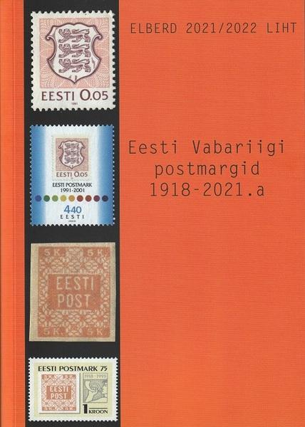 EESTI VABARIIGI POSTMARGID 1918-2021.A.